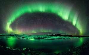 Kuzey Işıklarına Uzaydan Bakmaya Ne Dersiniz?