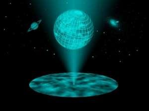 Evren Bir Hologram Olabilir Mi?