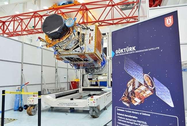 Göktürk-1 Uydusu gün yüzüne çıktı