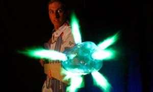 Bilim Kurgu Filminden Fırlamış El Yapımı Propan Silahı