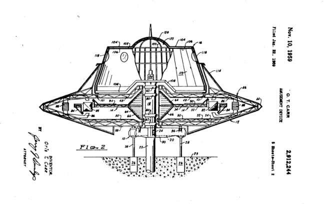 Gizemli Patent: Nikola Tesla Uzay Gemisi Tasarlamış Olabilir mi? tesla patent3 m