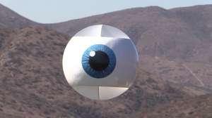 Uçan Göz Şeklinde Drone