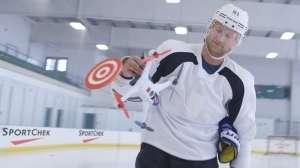 Buz Hokeyi Oyuncularının Drone ile İmtihanı