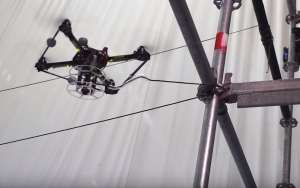 İpten Köprü Yapan Dronelar