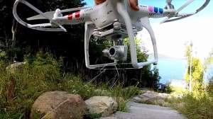 Kızının dişini çekebilmek için drone kullandı