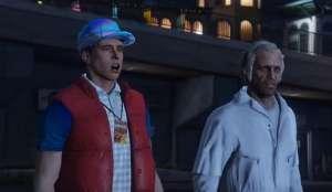 Geleceğe Dönüş'ü Bir de GTA 5'te İzleyin!