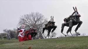 Boston Dynamics'in robot köpekleri ren geyiği olursa