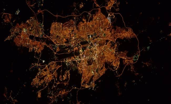 NASA Astronotu'ndan Fotoğraflı Paylaşım: 'İyi Akşamlar Ankara'
