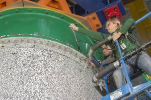 NASA, kompozit malzeme testinin ilkini bir patlama ile tamamladı