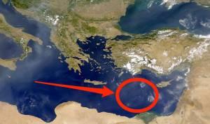 Doğu Akdeniz'de Eski Bir Kara Parçası Bulundu