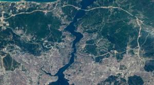 NASA, İstanbul'un uzaydan çekilen görüntülerini yayınladı