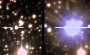 Gökbilimciler yıldız patlaması öncesi ve sonrası görüntülerini yakalamayı başardı