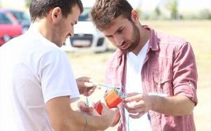 YTÜ'lü öğrenciler model uydu yarışmasında birinci oldu