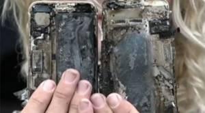 iPhone 7 yandı, kendisiyle birlikte arabayı da yaktı