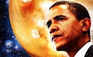 Obama gözünü Mars'a dikti
