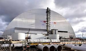 Çernobil'deki Nükleer Reaktörün Radyasyon Kalkanı