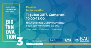 Bioinnovation 3 Konferansı, 11 Şubat'ta Bahçeşehir Üniversitesi'nde!