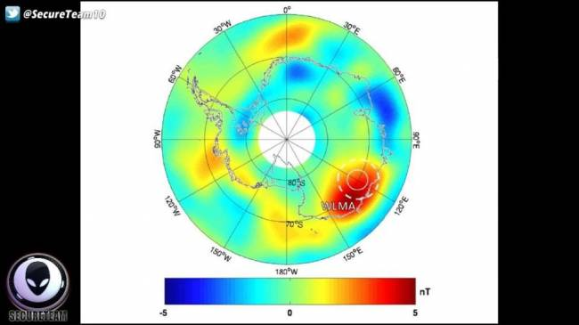 Antarktika'daki gizemli devasa obje wilkes land m