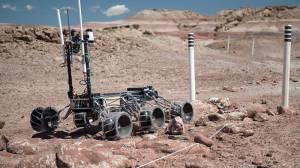 İTÜ'lü Öğrenciler Mars Robotu Üretiyor
