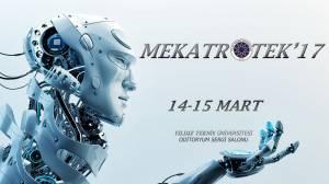 Mekatrotek'17, 14-15 Mart'ta Yıldız Teknik Üniversitesi'nde!