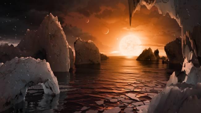 NASA, Bir Dış Cüce Yıldız Sisteminde Yedi Adet Gezegen Buldu