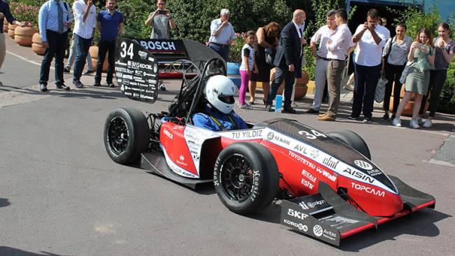 YTU Racing 4. aracı YTR-04'ü tanıttı