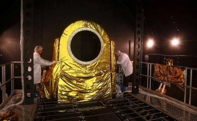Milli uyduyu üretecek merkez ilk kez görüntülendi